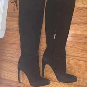 Sam Edelman Suede Over the Knee Heeled Boots